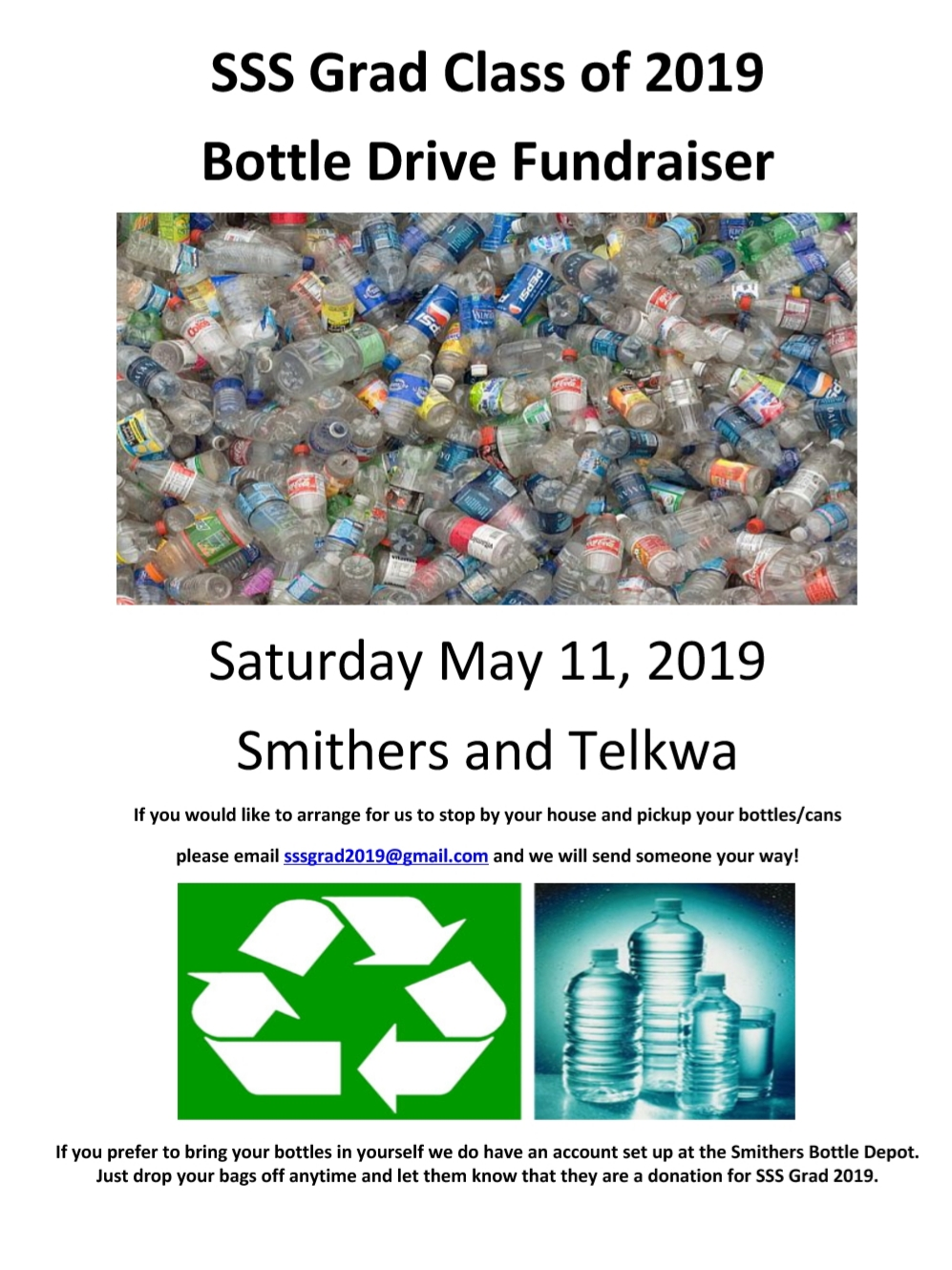 Bottle Drive Poster